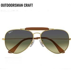 Rayban Sunglasses Outdoorsman Craft Polarized